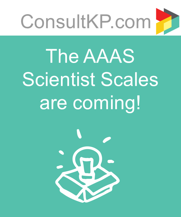 The AAAS Scientist Scales are coming!