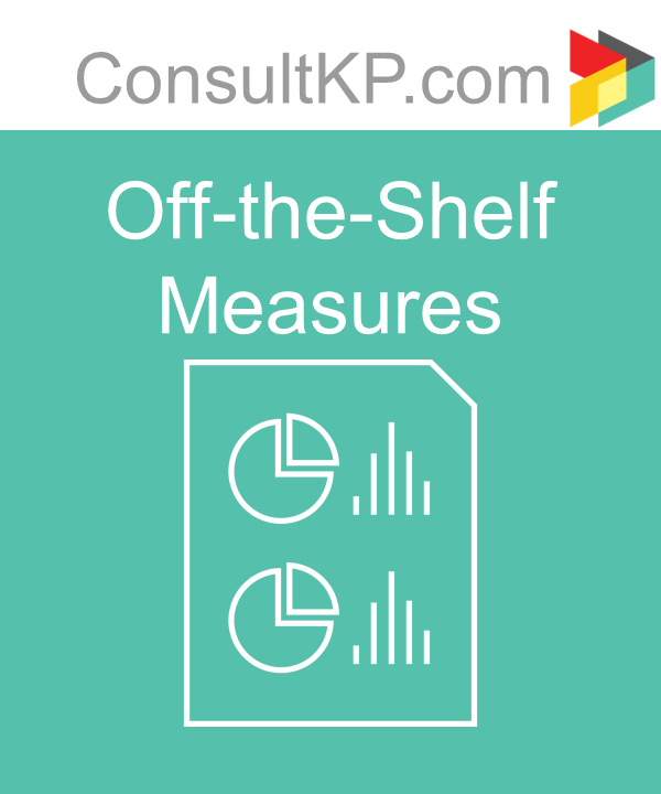Using Off-the-Shelf Measures – The Risk and the Reward