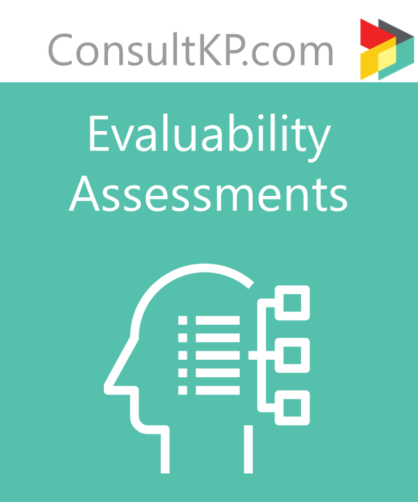 The Value of Evaluability Assessment
