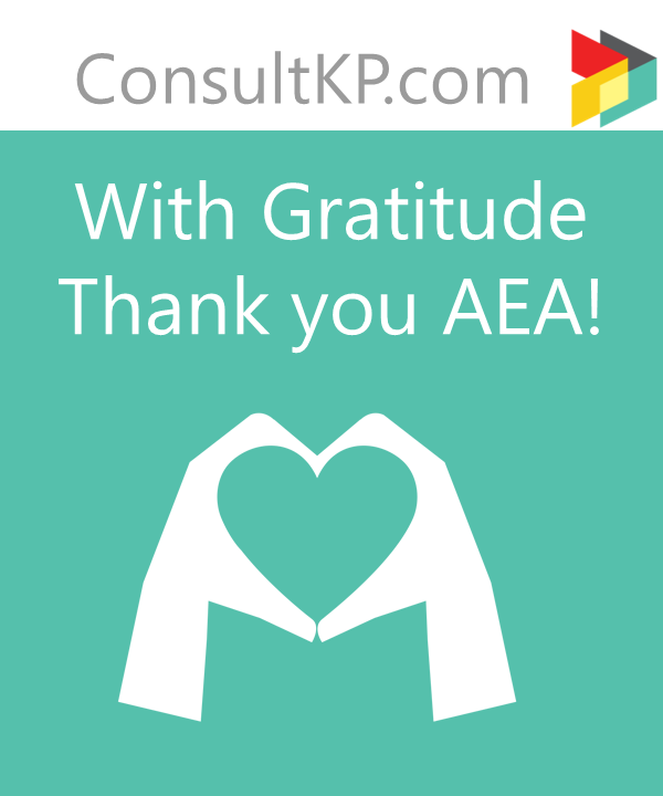 Thank you AEA!