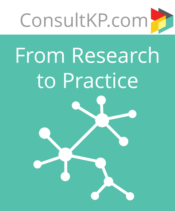 From Research to Practice – Helping Clients Connect the Dots